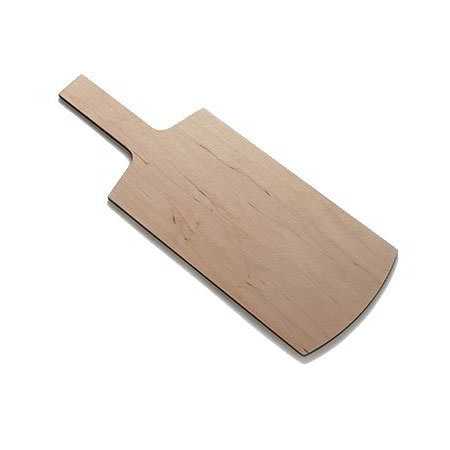 "American Metalcraft MBM3 Rectangular Serving Board with Handle - 18x6-1/2"" Wood"