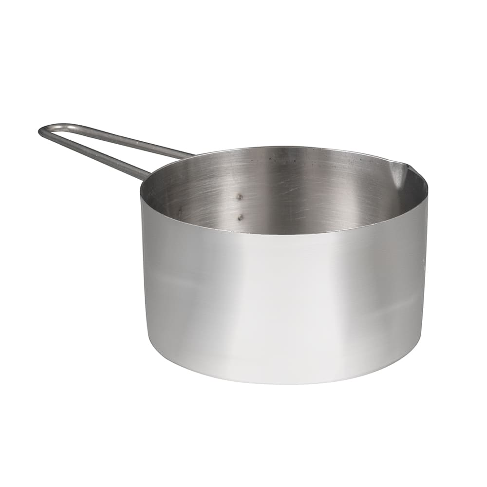 American Metalcraft MCW125 Measuring Cup w/ 1 1.4 Cup Capacity & Wire Loop Handle, Stainless