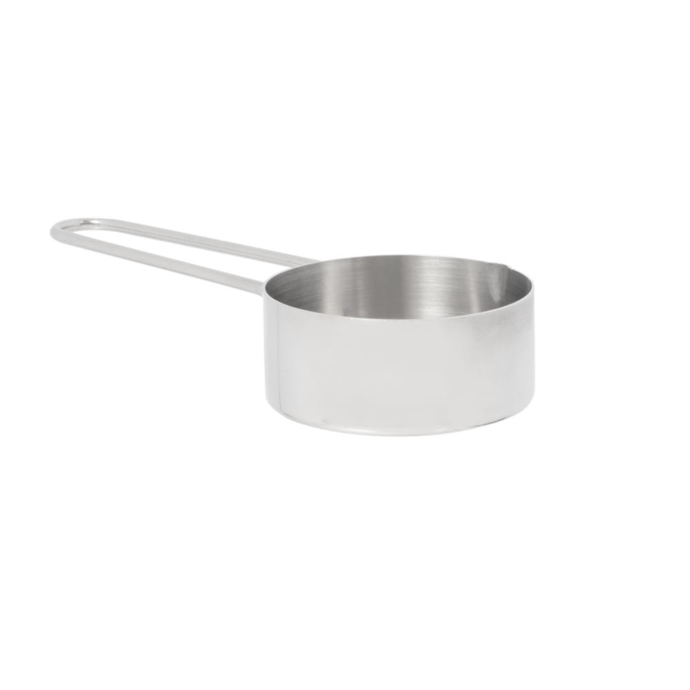 American Metalcraft MCW13 Measuring Cup w/ 1/3-Cup Capacity & Wire Loop Handle, Stainless