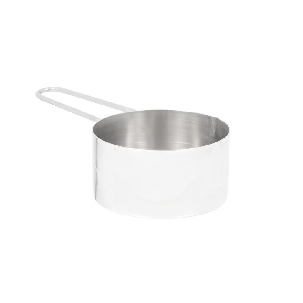 American Metalcraft MCW75 Measuring Cup w/ 3/4 Cup Capacity & Wire Loop Handle, Stainless