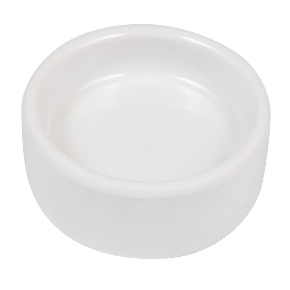 "American Metalcraft MELBPH 2 1/2"" Round Butter Dish - Melamine"