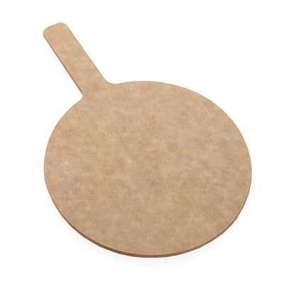 "American Metalcraft MP1217 12"" Pizza Peel w/ 5"" Handle, Pressed Wood"