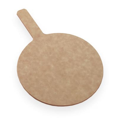 "American Metalcraft MP1722 17"" Pizza Peel w/ 5"" Handle, Pressed Wood"