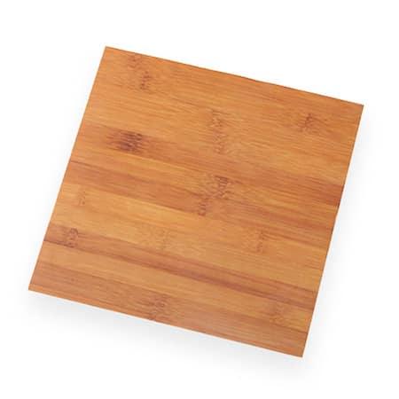 "American Metalcraft MPSB 11.25"" Square Serving Board - Bamboo Melamine"
