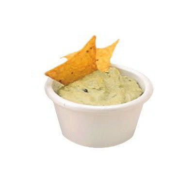 American Metalcraft MRS150W Smooth Sided Ramekin w/ 1.5 oz Capacity, Melamine/White
