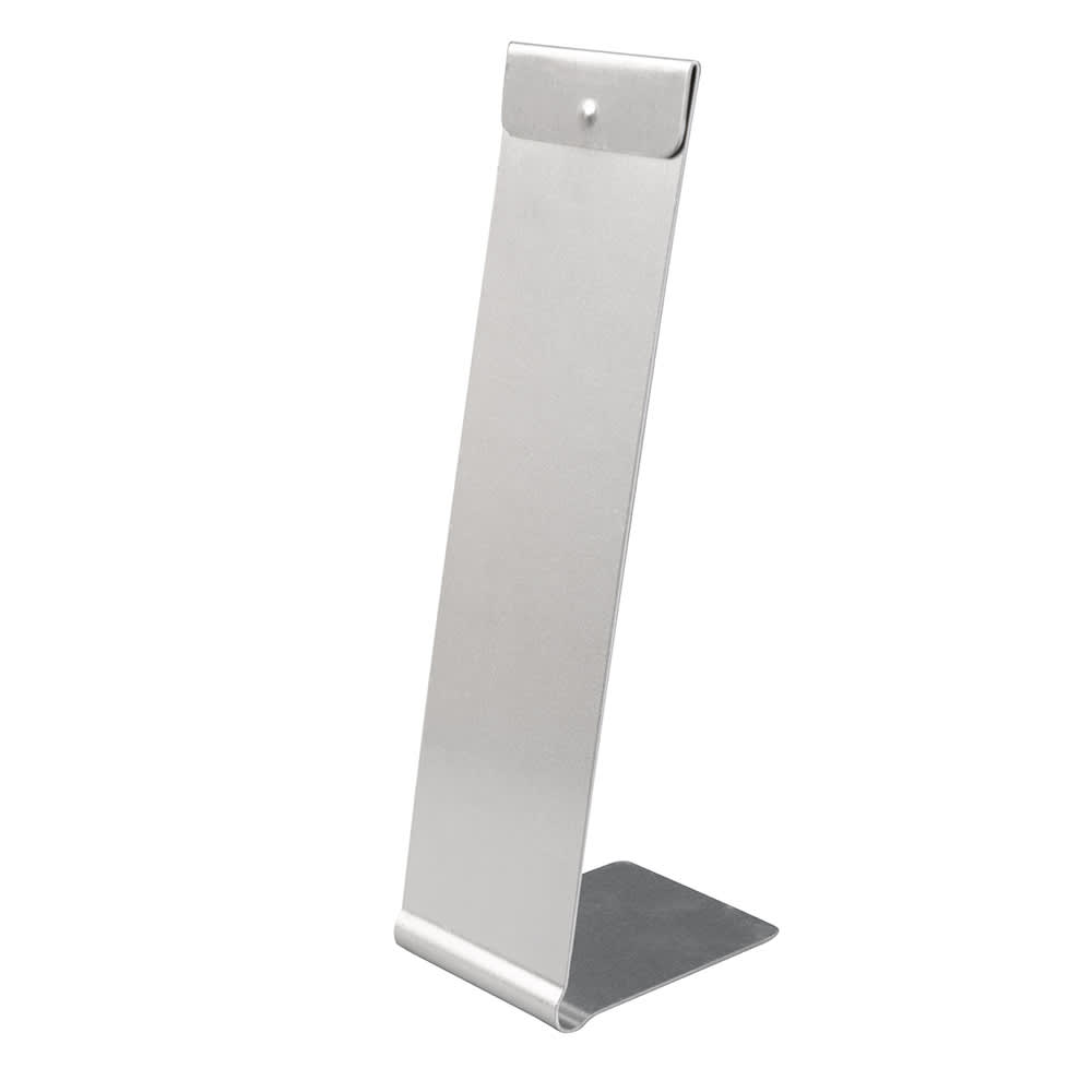 "American Metalcraft MS812511 Tabletop Menu Card Holder - 3"" x 11"", Aluminum"