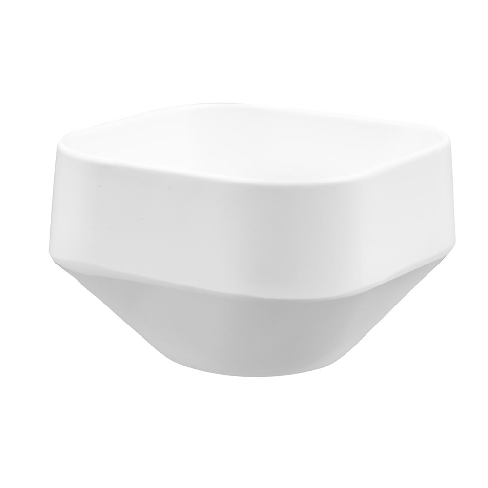 American Metalcraft MSCSW3 3 oz Square Sauce Cup, Melamine, White