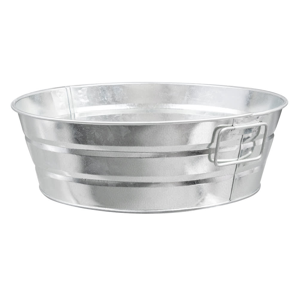 "American Metalcraft MTUB10 Tub w/ Side Handle, 10x3"", Tin"