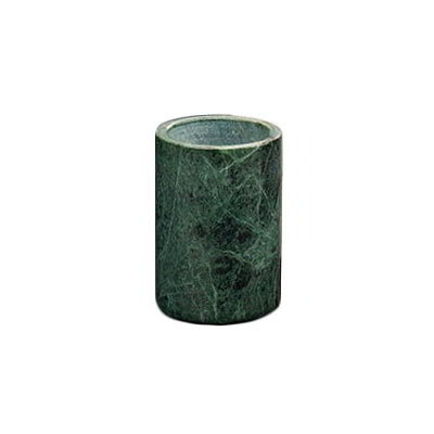 American Metalcraft MWC58GREEN 7-in Wine Cooler, Marble/Green