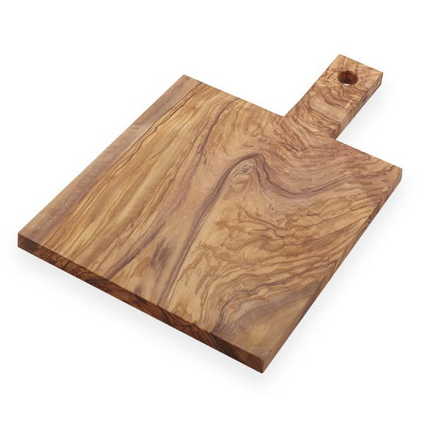 American Metalcraft OWB149 Serving Board w/ Handle, Olive Wood