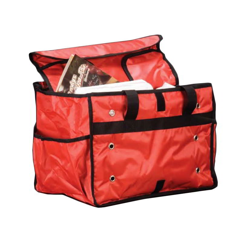 "American MetalCraft PBSB1512 Insulated Delivery Bag 15"" x 9"" x 12"" Available from KaTom for $18.12 plus shipping."
