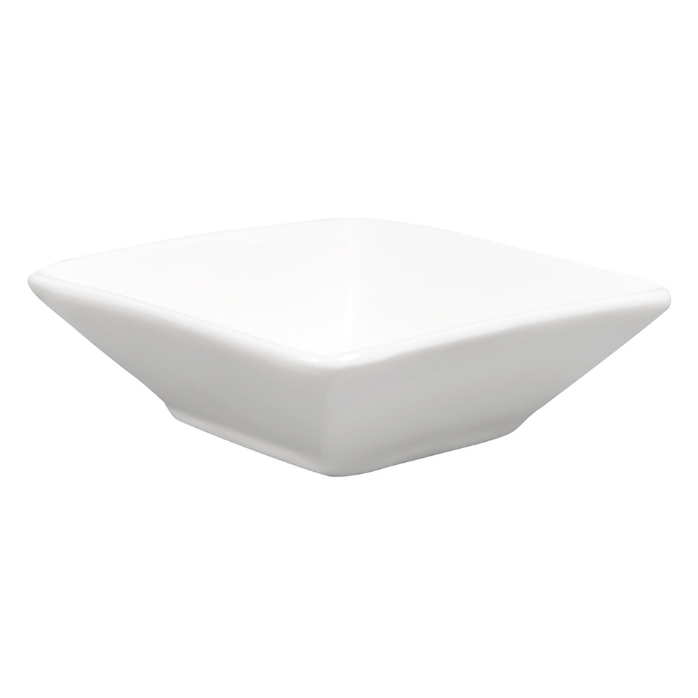 "American Metalcraft PORD39 Square Sauce Cup, 3x1"", Porcelain"