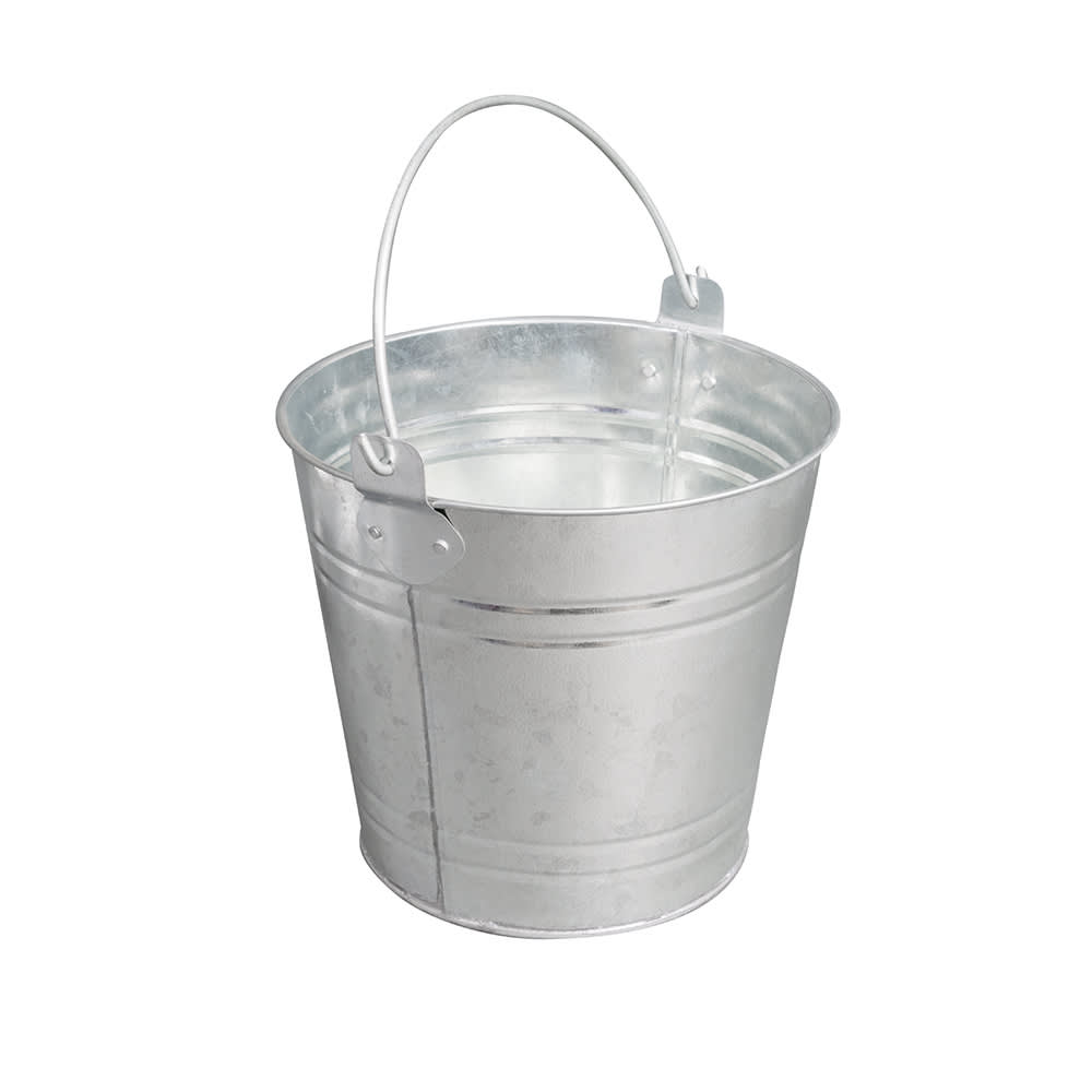 American Metalcraft PTUB87 Pail w/ 1.16-gal Capacity & Wire Handle, Tin