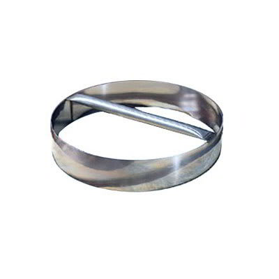 "American Metalcraft RDC12 12"" Dough Cutting Ring w/ Welded Handle, Stainless"