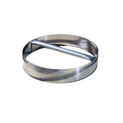 "American Metalcraft RDC16 16"" Dough Cutting Ring w/ Welded Handle, Stainless"