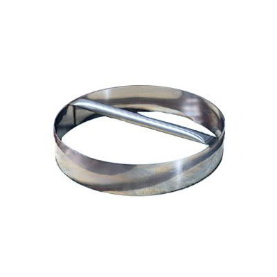 "American Metalcraft RDC8 8"" Dough Cutting Ring w/ Welded Handle, Stainless"