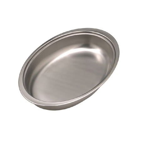 American Metalcraft RFP20V Oval Chafer Food Pan, Stainless