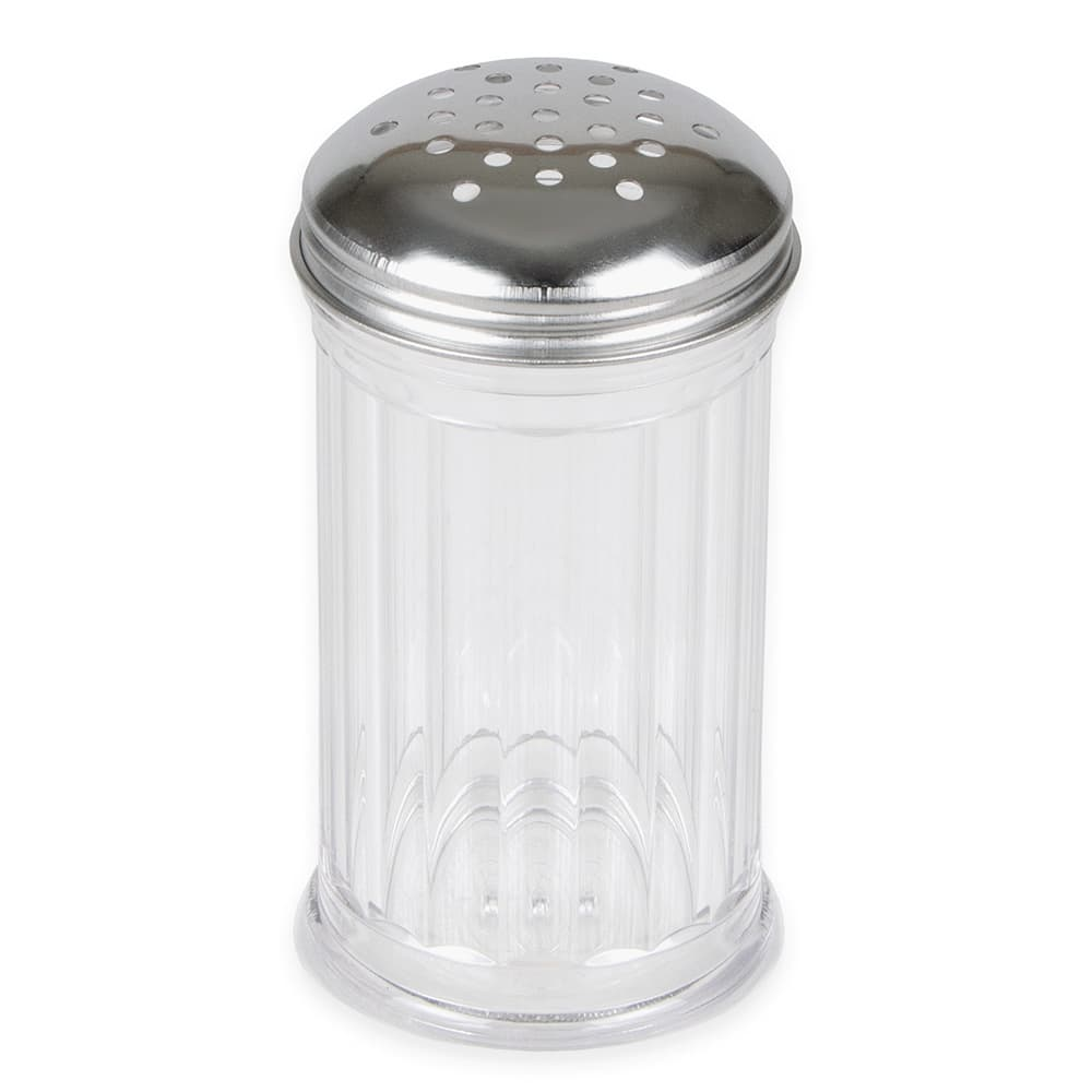American Metalcraft SAN312 Cheese Shaker w/ 12 oz Capacity, Plastic/Stainless