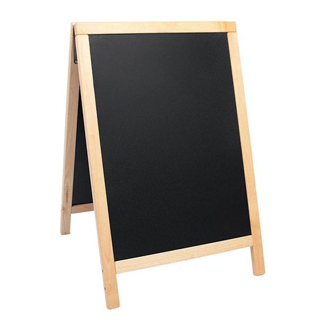 """American Metalcraft SBDB85 Medium Sandwich Board w/ Double Side, 21.5x33.5"""", Wood"""