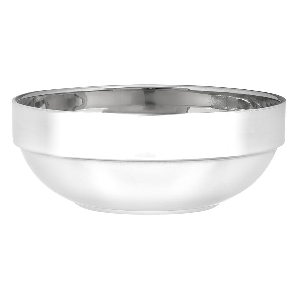 American Metalcraft SDWB55 16 oz Stackable Bowl - Mirror/Satin-Finish Stainless