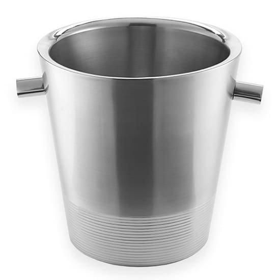 "American Metalcraft SDWC7 7"" Champagne Bucket, Stainless Steel"