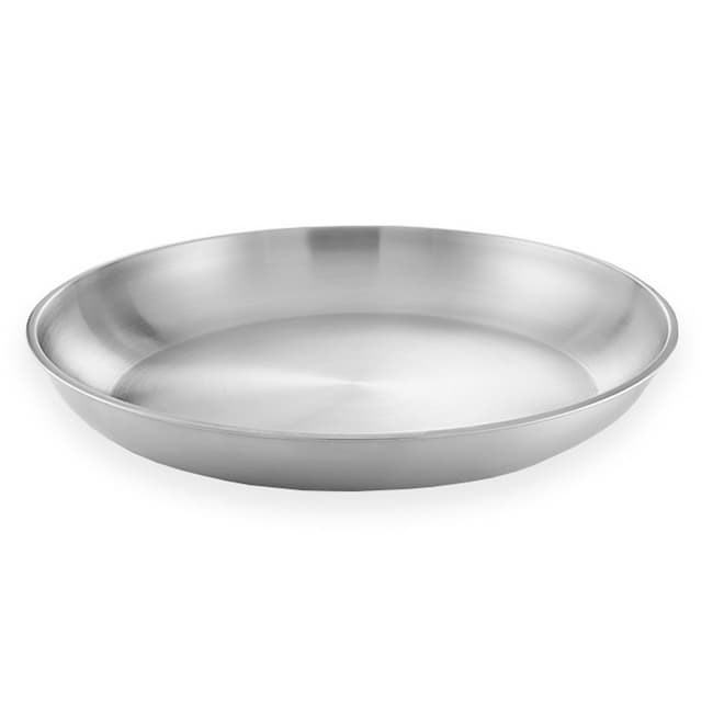 "American Metalcraft SEA20 19.75"" Round Seafood Tray, Aluminum"