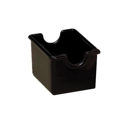 American Metalcraft SP324 Sugar Packet Holder, Black/Plastic