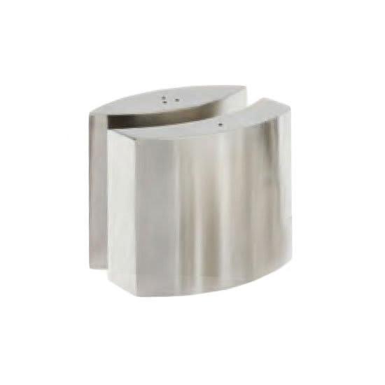 "American Metalcraft SPDX11 2.625"" Salt & Pepper Shaker Set, Oval"