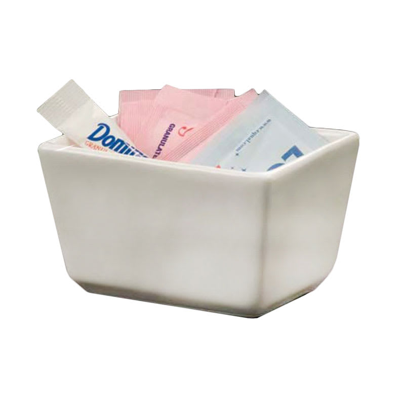 American Metalcraft SPP326 Sugar Packet Holder, Ceramic