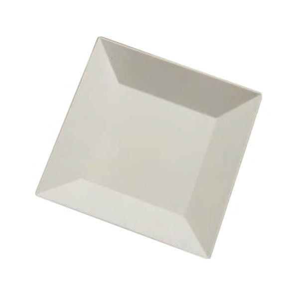 "American Metalcraft SQP16 16"" Square Melamine Platter - White"