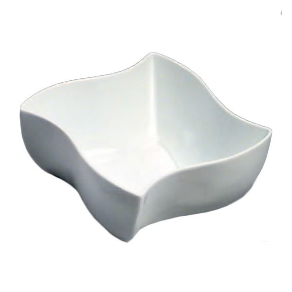 "American Metalcraft SQVY8 8.5"" Bowl w/ 87-oz Capacity, Porcelain/White"