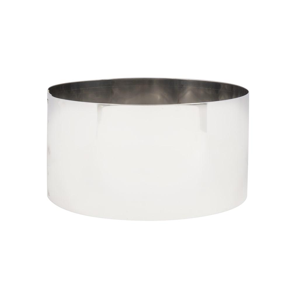 """American Metalcraft SR6063 6"""" Cake Ring, Stainless"""