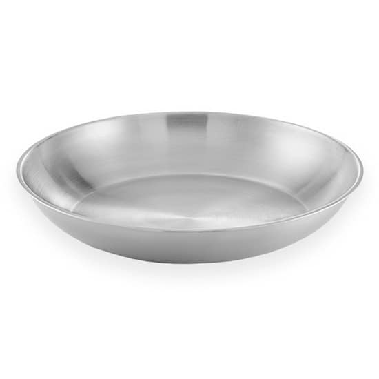 """American Metalcraft SSEA14 13.75"""" Round Seafood Tray w/ 169 oz Capacity, Stainless"""