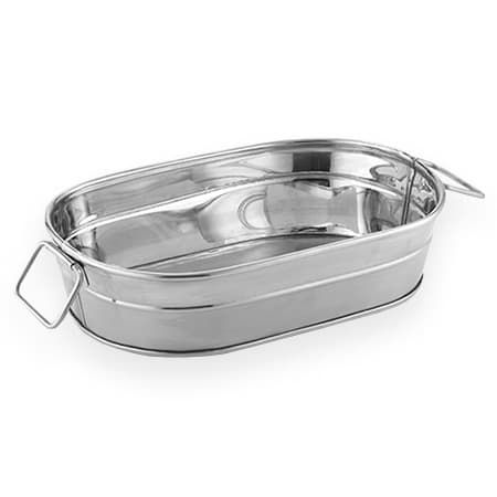 American Metalcraft STUB69 24 oz Oval Tub, Mirror Finish, Stainless