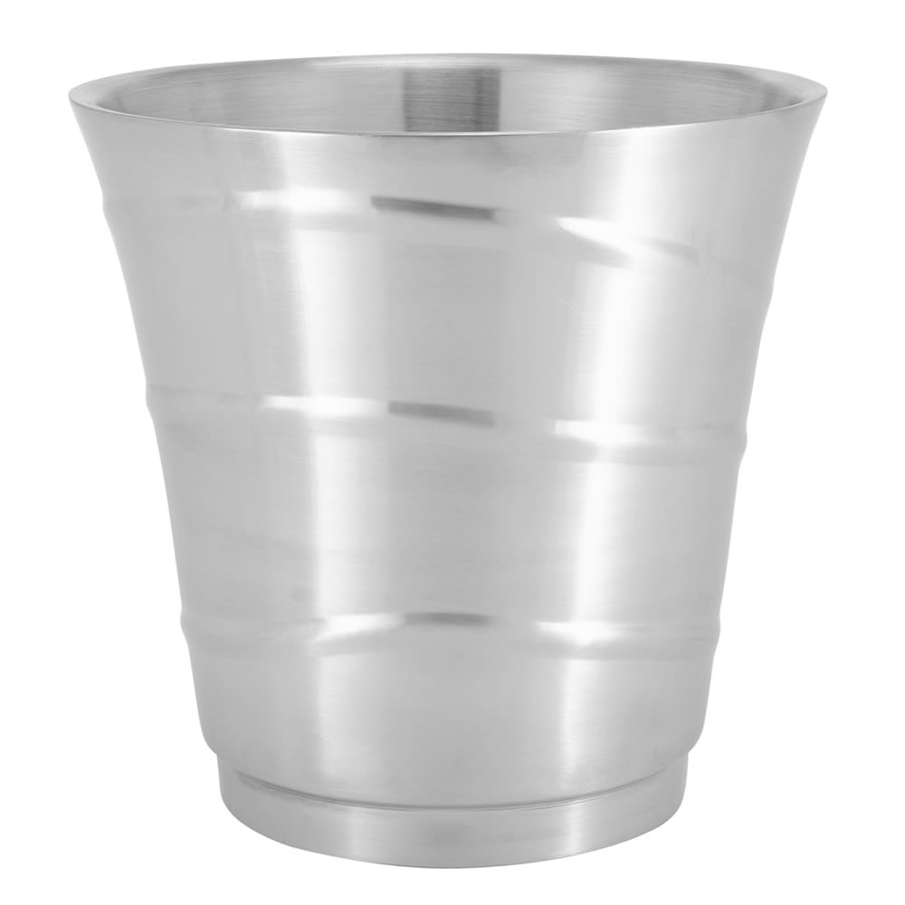 "American Metalcraft SWB 8.75"" Swirl Embossed Wine Bucket, Double Wall Insulated"