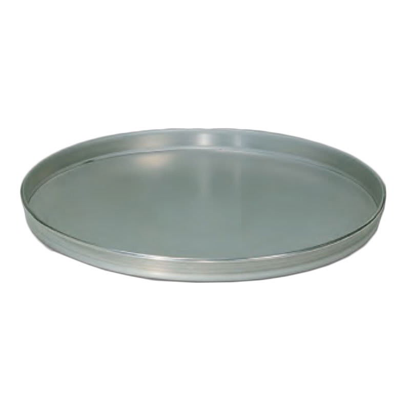 "American Metalcraft T4006 6"" Solid Straight Sided Pizza Pan, Tin/Steel"