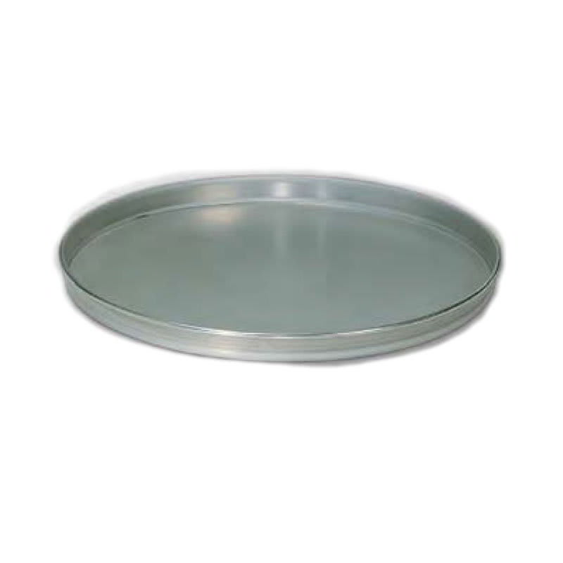 "American Metalcraft T4014 14"" Solid Straight Sided Pizza Pan, Tin/Steel"