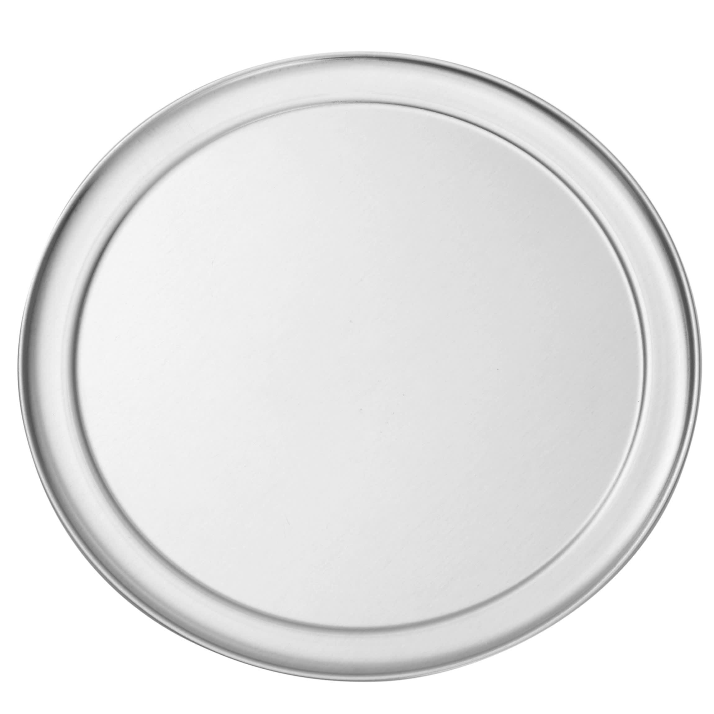 "American Metalcraft TP10 10"" Wide Rim Pizza Pan, Solid, Aluminum"