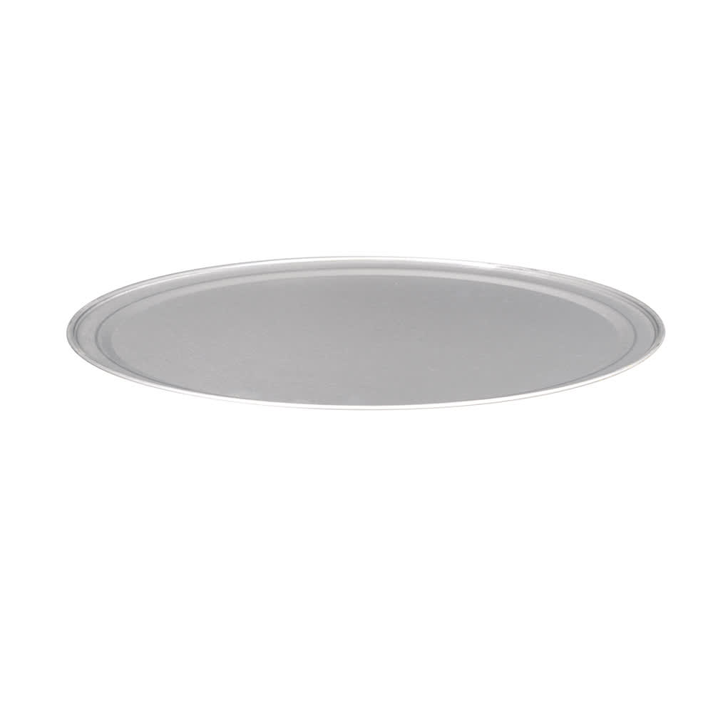 "American Metalcraft TP14 14"" Wide Rim Pizza Pan, Solid, Aluminum"
