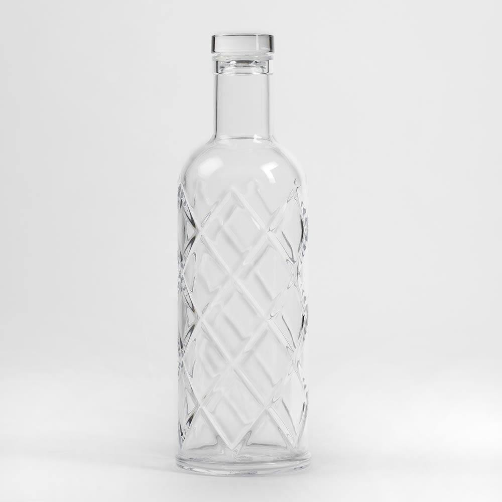 American Metalcraft WB35 34 oz Water Bottle, Plastic, Clear