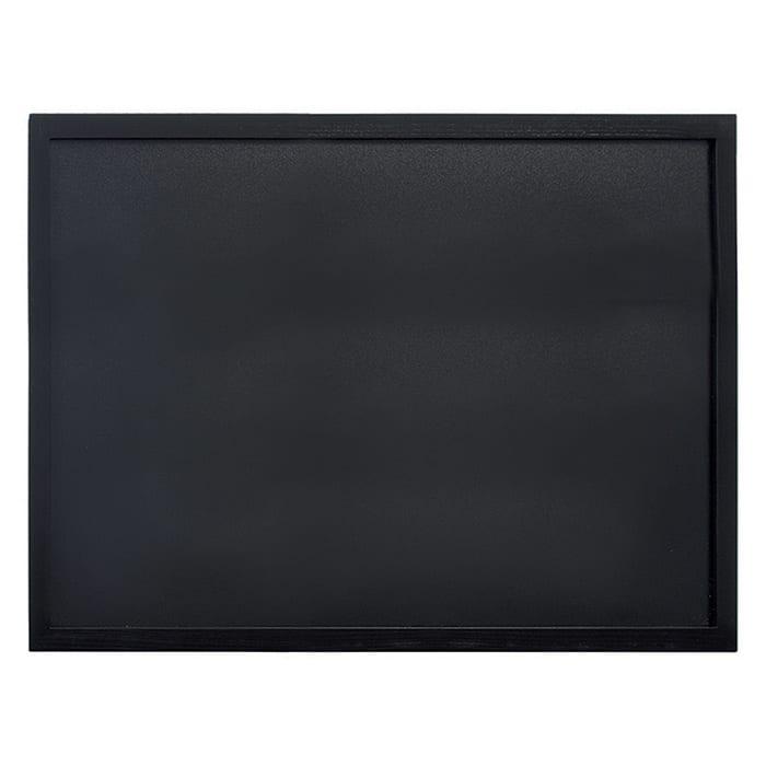 "American Metalcraft WBWBL6080 31.5"" Wall Board w/ Chalk Marker, Black"