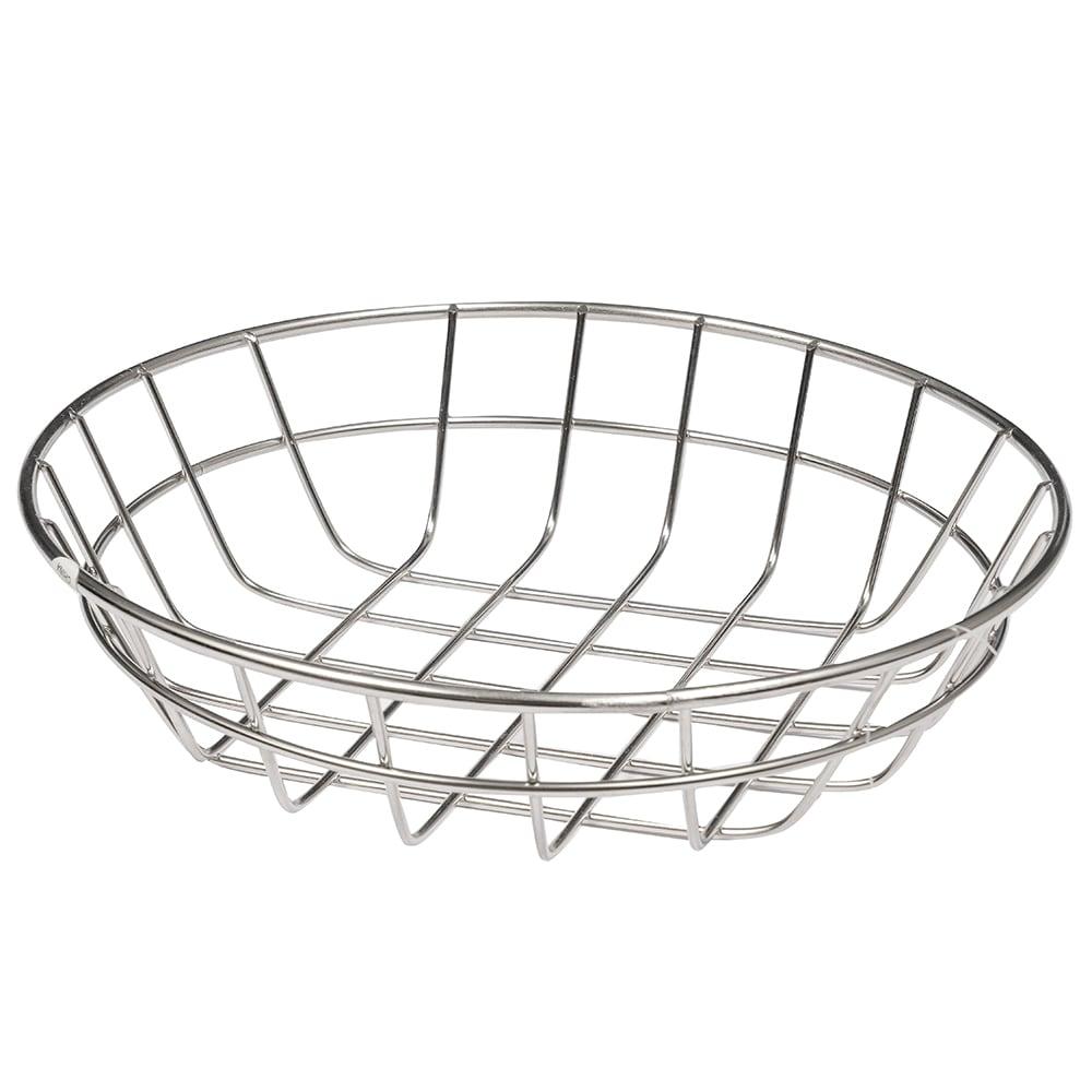 "American Metalcraft WISS8 8"" Basket, Stainless"