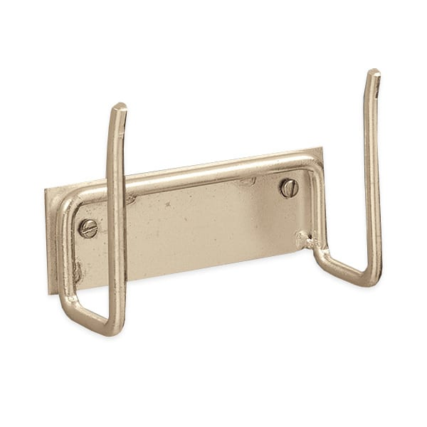 "American Metalcraft WPH45153 4.62"" Peel Hanger w/ Screws, Chrome/Steel"