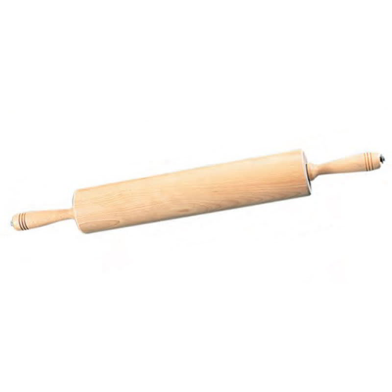 "American Metalcraft WRPC5718 18"" Rolling Pin w/ 2.75"" Barrel, Wood"