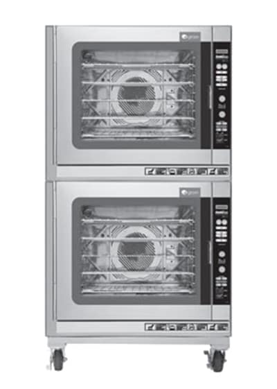 Groen (2)CBE-10GC Double Full-Size Combi-Oven, Boilerless, LP