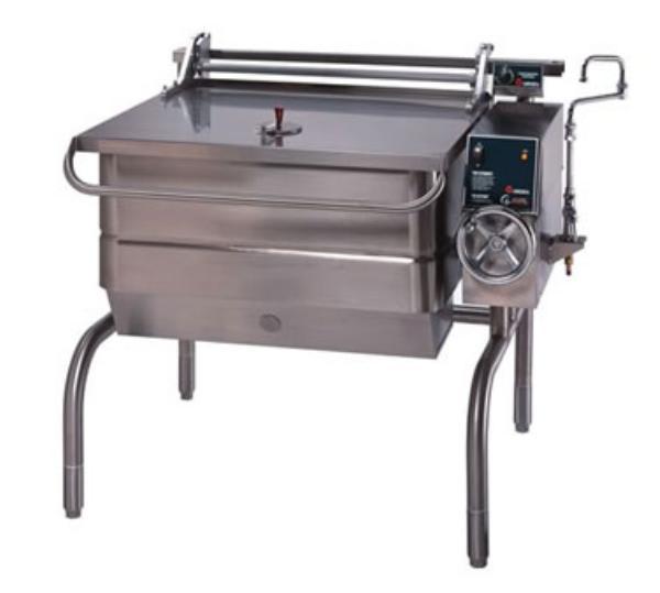 Groen BPM-40G Eclipse Braising Pan, 40 Gallon, Manual Tilt, S/S, Gas