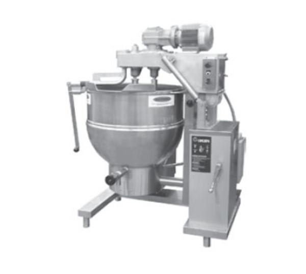 Groen DHT-40,INA/2 Cooker Mixer w/ Inclined Agitator, 40-Gallon, NG