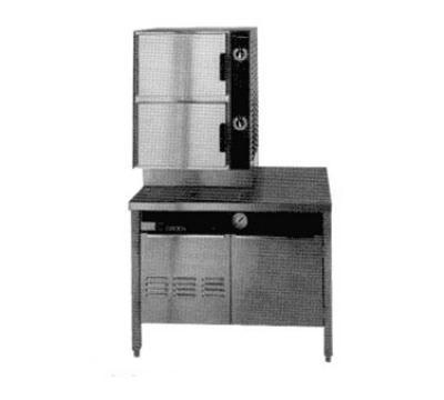 Groen HY-6SG-36 Gas Floor Model Steamer w/ (6) Full Size Pan Capacity, NG