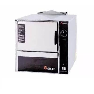 Groen SSB-3G Gas Countertop Steamer w/ (3) Full Size Pan Capacity, NG