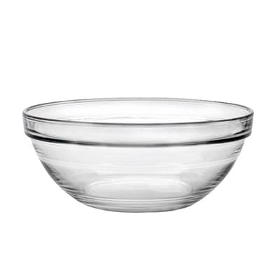 "Duralex 2020AC04/4 1-oz Stackable Bowl w/ Impact & Chip Resistant, 4-Set, 2.38"", Glass"